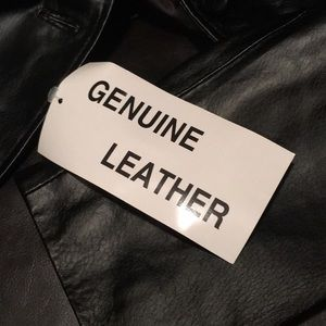 Chadwicks Jackets & Coats - Black Leather Blazer